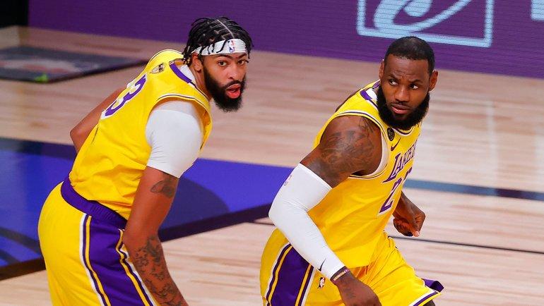 1октября. «ЛАЛейкерс»— «Майами»— 116:98. Фото NBA