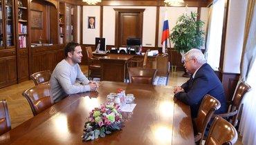 Руководство «Томи» поставило задачи перед Кержаковым