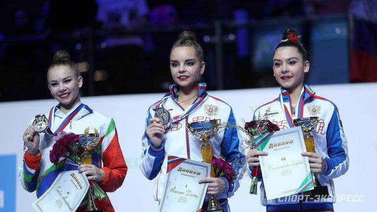 Анастасия Салос,  Дина Аверина иЛала Крамаренко (справа). Фото Федор Успенский, «СЭ»