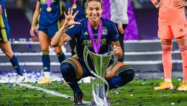 Дженифер Марошан— лучший полузащитник женской Лиги чемпионов-2019/20