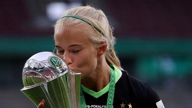Пернилла Хардер — лучший нападающий женской Лиги чемпионов-2019/20. Футбол - Женский футбол Спорт-Экспресс