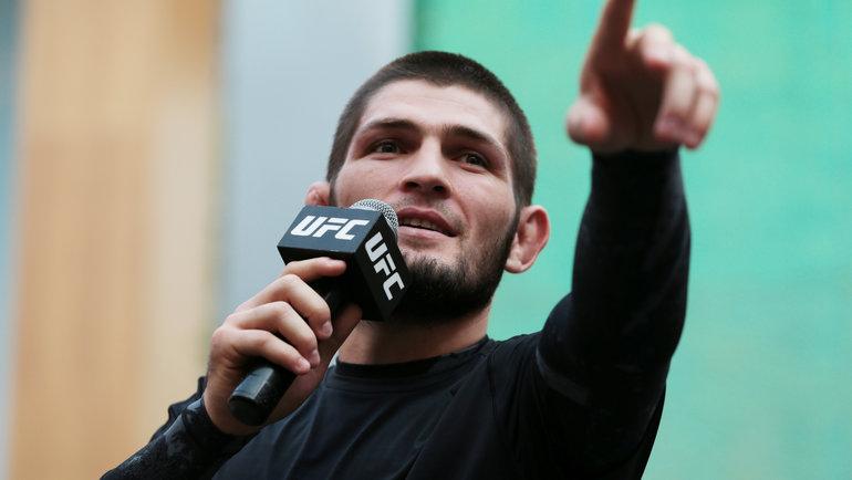 Хабиб Нурмагомедов. Фото Reuters