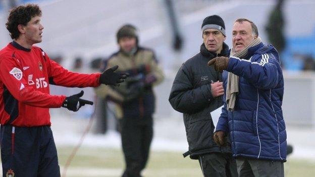 Когда Дик Адвокат был тренером «Зенита», Юрий Жирков еще играл заЦСКА. Фото Александр Федоров, «СЭ»