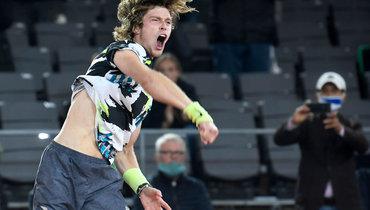 Рублев обыграл Андерсона ипрошел вчетвертый круг Roland Garros