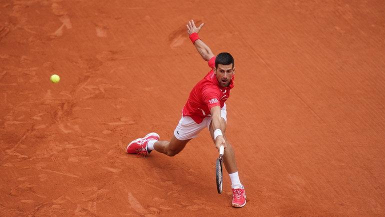 Новак Джокович. Фото Roland Garros
