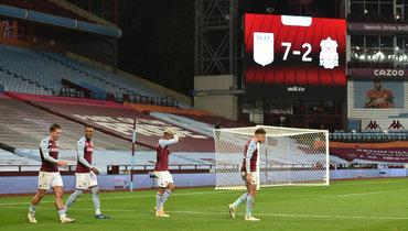 «Астон Вилла» разгромила «Ливерпуль»: чемпион Англии пропустил 7 голов