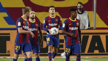 «Барселона» сыграла вничью с «Севильей»