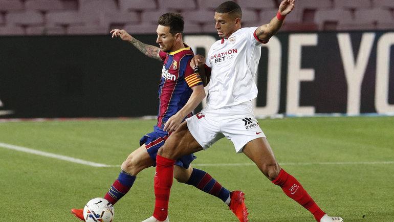 «Барселона» и «Севилья» сыграли вничью. Фото Reuters