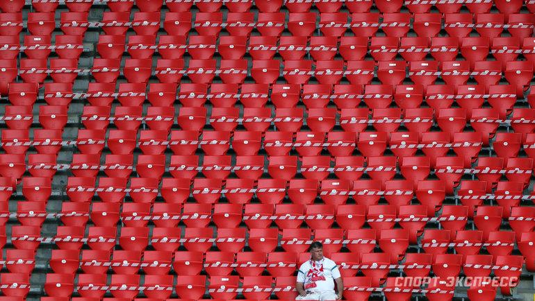 Стадионы РПЛ могут остаться без зрителей. Если ковид-ситуация ухудшится. Фото Александр Федоров, «СЭ» / Canon EOS-1D X Mark II