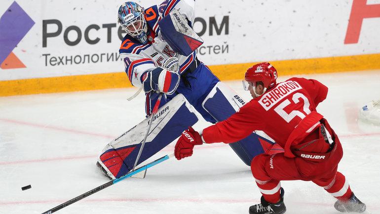Вратарь Ярослав Аскаров, скорее всего, будет выбран первым изроссиян напредстоящем драфте НХЛ. Фото Юрий Кузьмин, photo.khl.ru