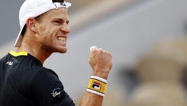 Шварцман обыграл Тима в1/4 финала Roland Garros. Матч продолжался более пяти часов