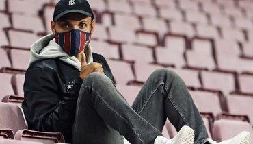 Брэйтуэйт взял номер Суареса в «Барселоне»