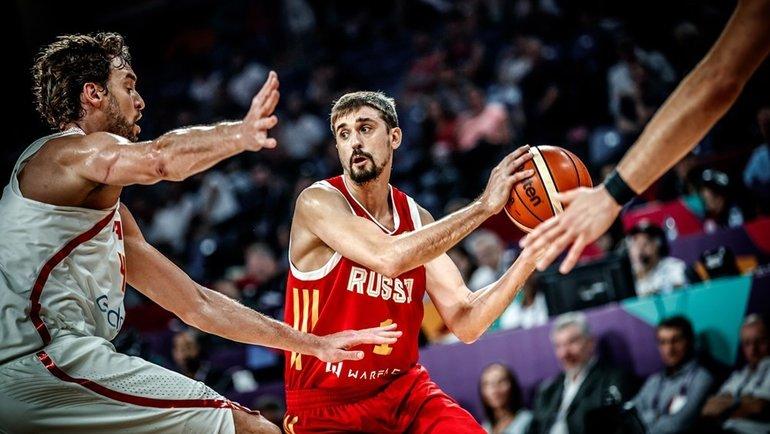 Алексей Швед. Фото FIBA.