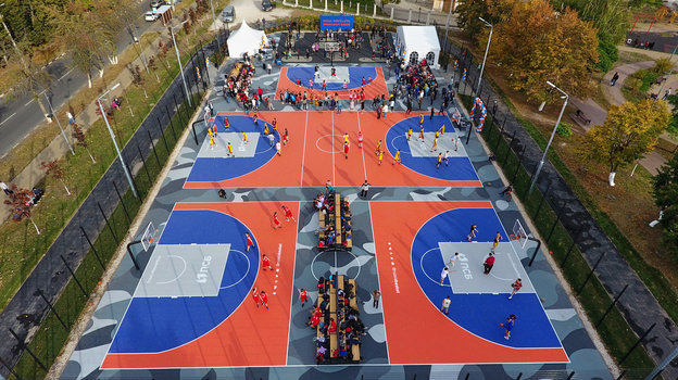 Оружейная столица— первый центр силы баскетбола 3х3