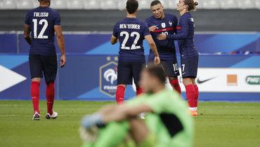 Франция— Украина— 7:1! Команду Шевченко уничтожили проблемы ичемпионы мира