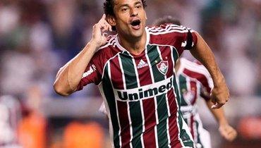 Фред забил гол в300-м матче за «Флуминенсе»