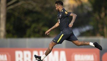 Неймар получил повреждение натренировке сборной Бразилии