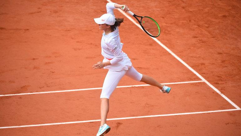 Ига Свентек. Фото Roland Garros.