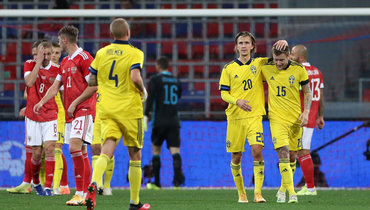 8октября. Москва. Россия— Швеция— 1:2. Россияне уступили втоварищеском матче перед играми Лиги наций.