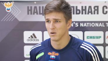 Соболев— первый запять лет игрок, забивший вдебютном матче сборной России. Донего были Головин иМиранчук
