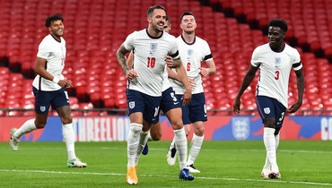Сборная Англии разгромила Уэльс, голы забили три дебютанта