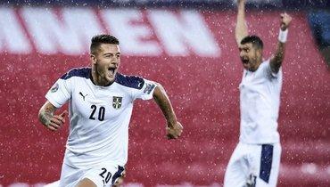 Сербия вырвала победу уНорвегии. Эрлин Холанн неедет наЕвро