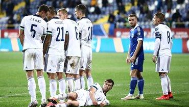 Словакия сыграет сСеверной Ирландией вфинале отбора Евро-2020