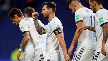 Месси открыл счет вматче Аргентина— Эквадор. Видео