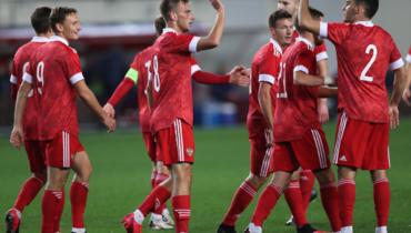 Россия— Эстония, молодежные сборные: все голы матча
