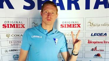 19-летний российский вратарь Сорокин стал игроком сербского «Спартака»