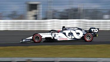 Квят занял 13-е место вквалификации «Гран-при Айфеля»