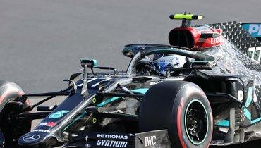 Боттас выиграл квалификацию «Гран-при Айфеля», Квят— 13-й