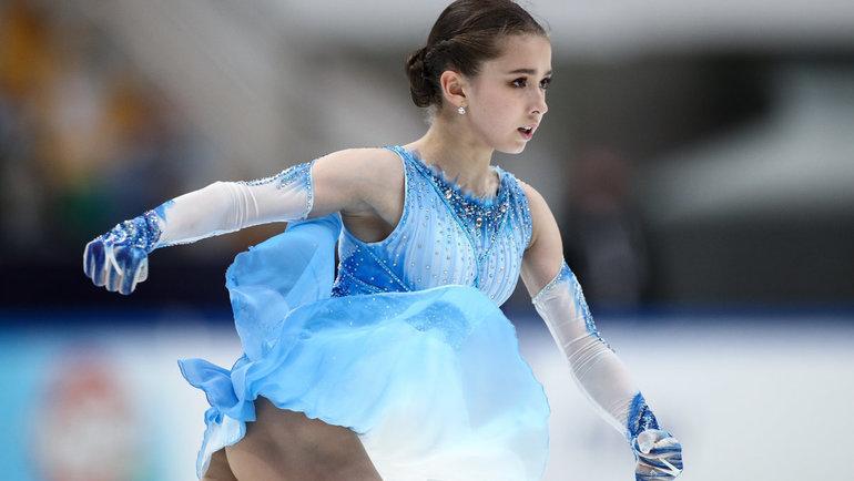 Камила Валиева: видео проката короткой программы. Фигурное катание Спорт-Экспресс