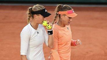 Бабош иМладенович стали чемпионками Roland Garros впарном разряде