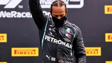 Хэмилтон выиграл гонку вГермании исравнялся сШумахером попобедам в «Формуле-1»