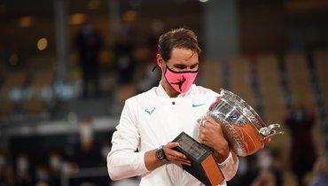 Надаль выиграл сотый матч наRoland Garros. Это абсолютный рекорд