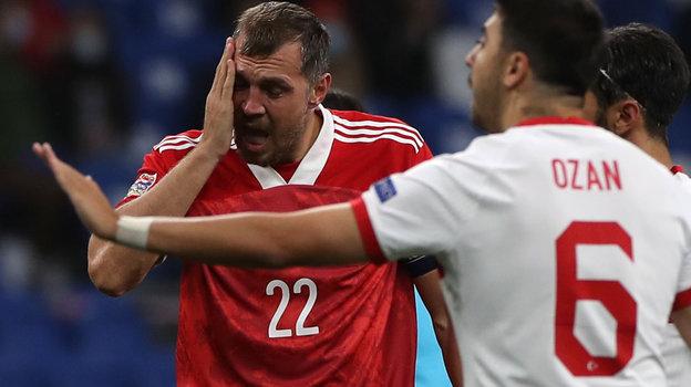 11октября. Москва. Россия— Турция— 1:1. Артем Дзюба.