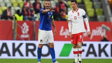 Италия иПольша сыграли вничью, Дания разгромила Исландию