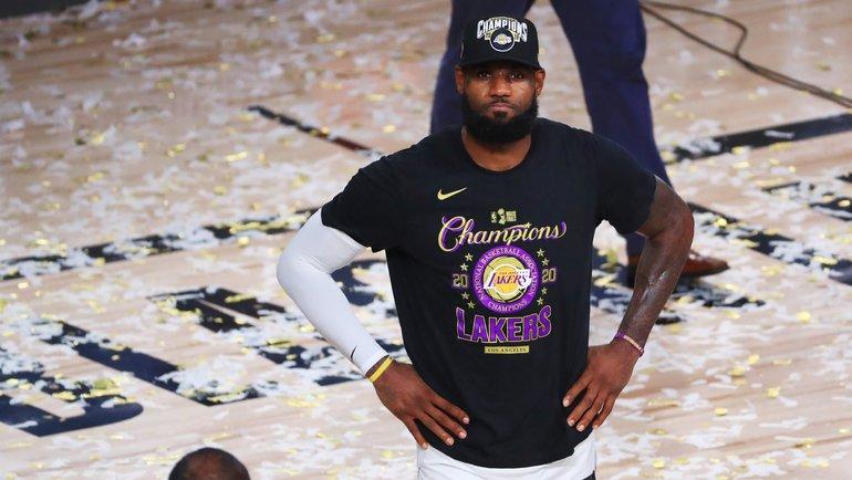 Леброн Джеймс. Фото НБА.