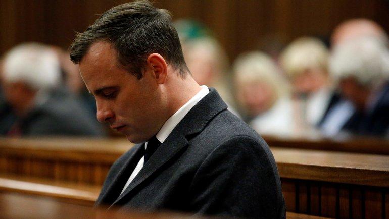 Оскар Писториус в зале суда. Фото AFP