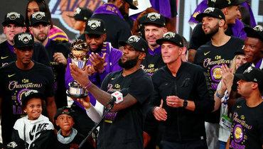 «Лейкерс» вернул себе титул НБА десять лет спустя.