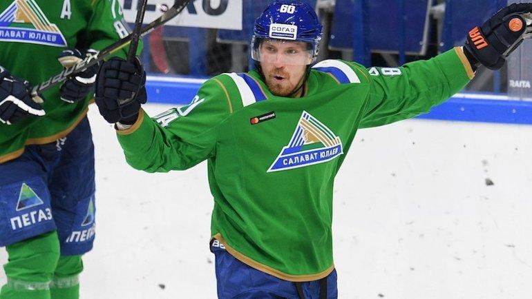 Маркус Гранлунд. Фото photo.khl.ru