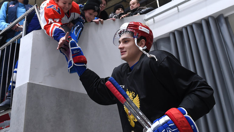 Николай Прохоркин. Фото Юрий Кузьмин, photo.khl.ru
