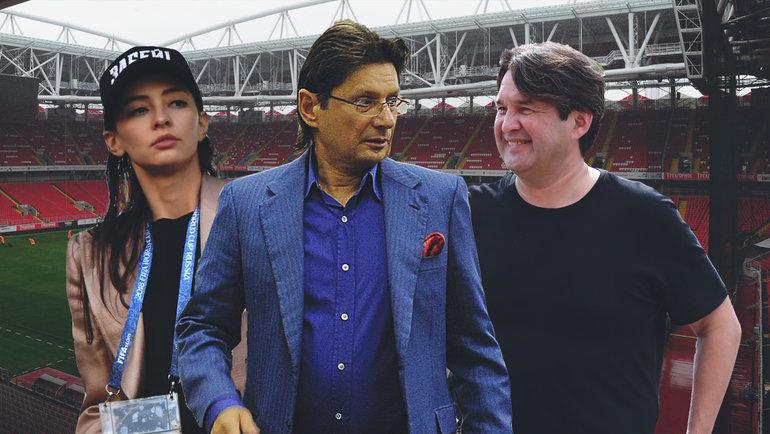 Зарема Салихова, Леонид Федун, Шамиль Газизов (слева направо).