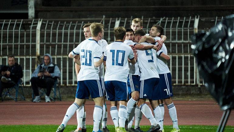 Молодежная сборная России вышла наЕвро-2021! Фото РФС