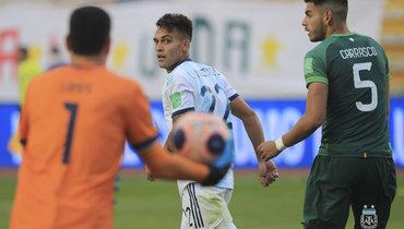 Мартинес прервал голевую серию Месси всборной Аргентины
