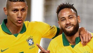 Перу— Бразилия: все голы матча