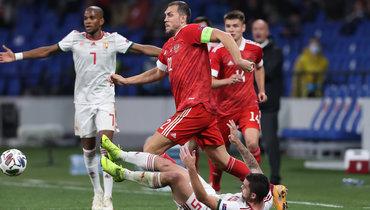 14октября. Москва. Россия— Венгрия— 0:0. Россияне сыграли вничью впоследнем домашнем матче 2020 года.