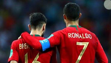 Бруну Фернандеш: «Без Роналду амбиции Португалии остаются прежними»