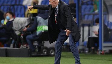 Станислав Черчесов: «Согласен, что сборная провела два разных тайма»